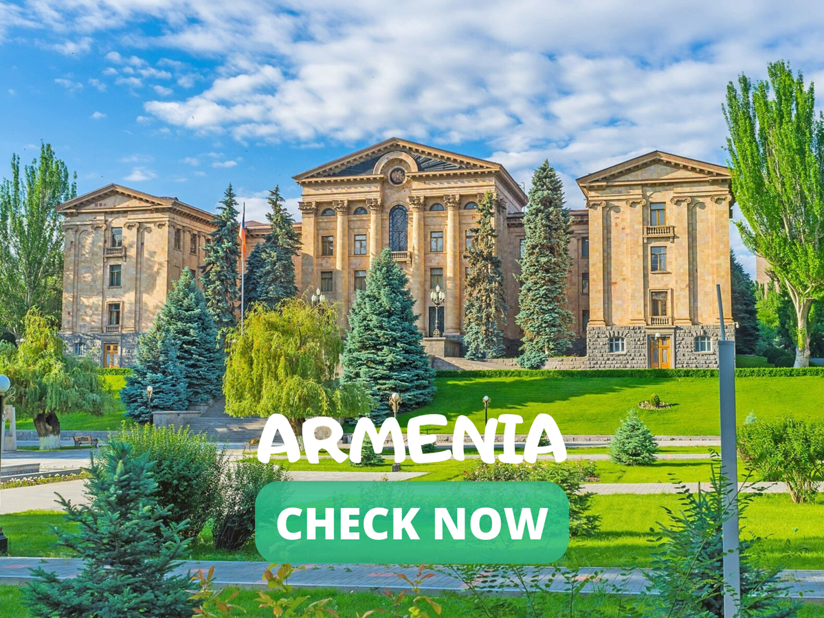 If you are traveling to Armenia, you might need a visa for your trip