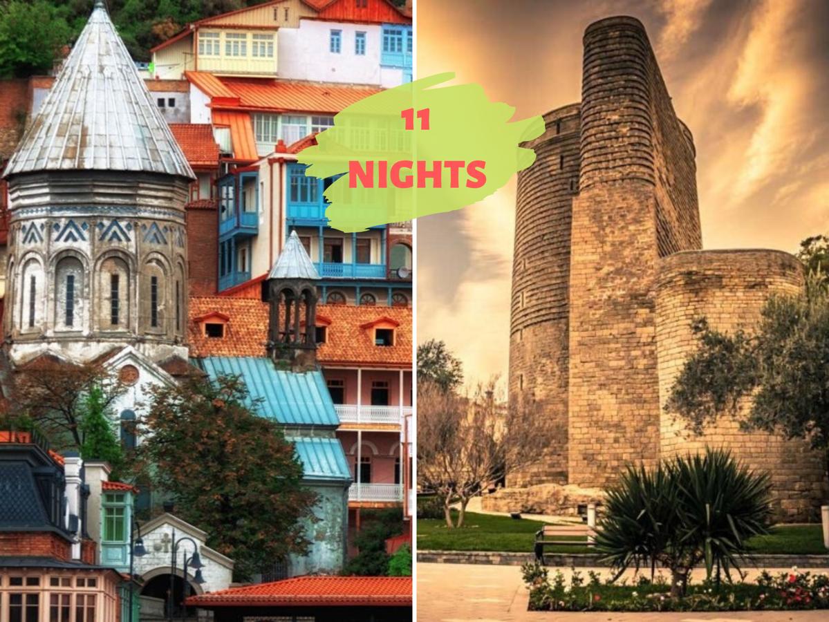 """WONDER TOUR"" (Азербайджан+Грузия)"