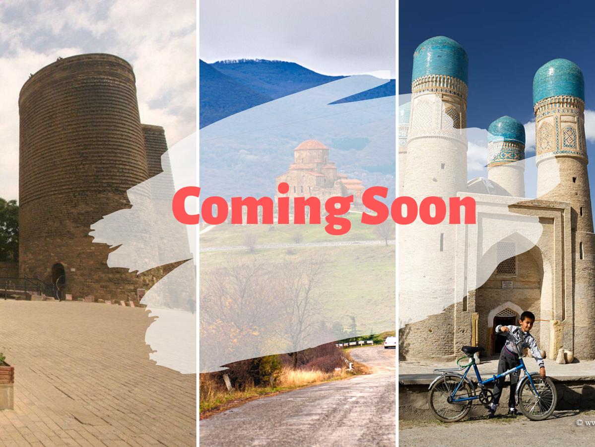 Azerbaijan + Georgia + Uzbekistan