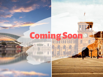 """COMING SOON"" - (Georgia+Armenia)"