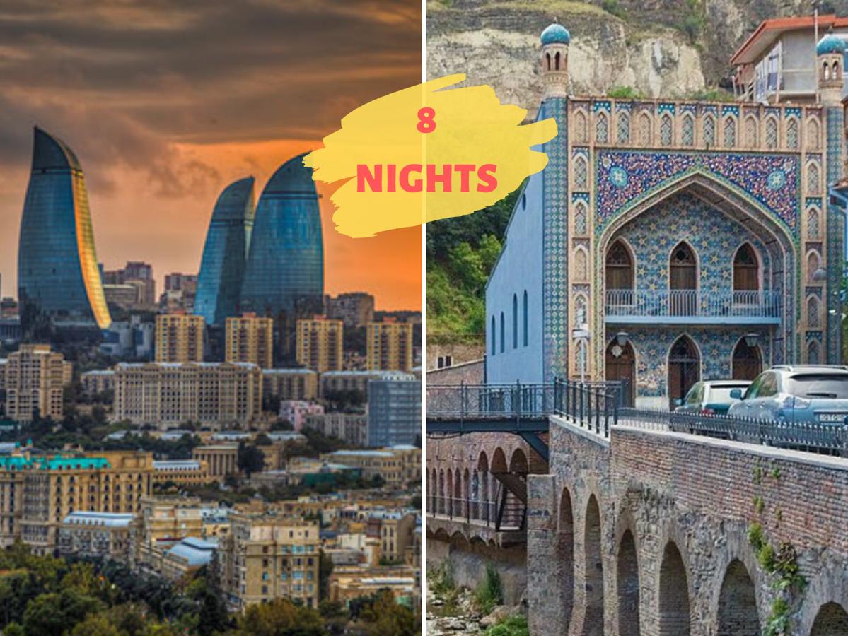 """CAUCASUS HERITAGE"" (Azerbaijan+Georgia)"
